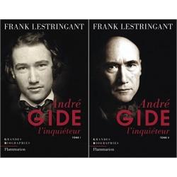 André Gide l'inquiéteur 2/2V Frank LESTRINGANT Flammarion 9782080687357 9782081271012