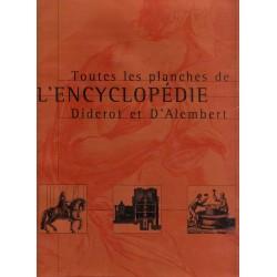 Toutes les planches de l' Encyclopédie Diderot et d'Alembert 9782237005119