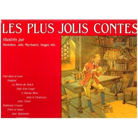 les plus jolis contes illustres par Steinlen Job Myrbach ...