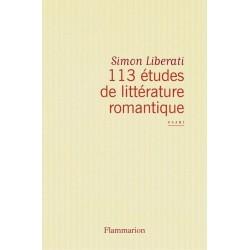 113 études de littérature romantique 9782081241589