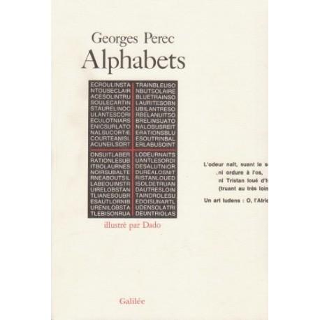 Alphabets - cent soixante-seize onzains hétérogrammatiques