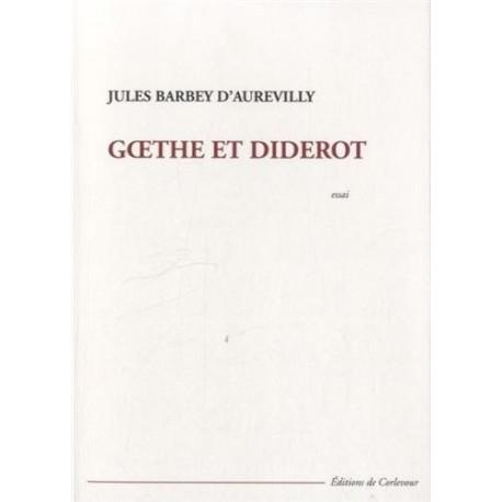 Goethe et Diderot - essai 9782915831832