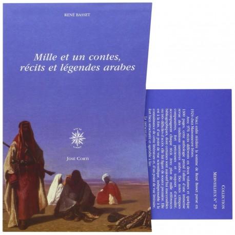 Mille et un contes, récits et légendes arabes José Corti 9782714308566 Book
