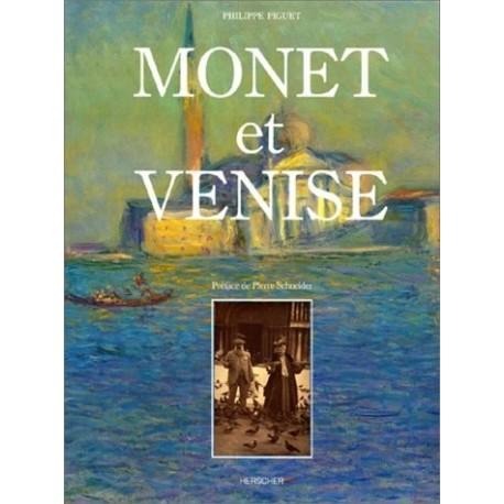 Monet et Venise MONET Claude 9782733501283