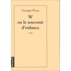 W ou le souvenir d''enfance PEREC Georges Denoel 9782207234914