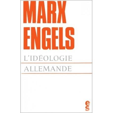 L'idéologie allemande Les éditions sociales 9782209024902