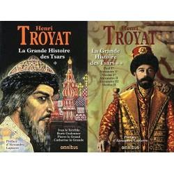 La grande histoire des Tsars: De Ivan le Terrible à Nicolas II, 2 volumes 9782258076969 Book