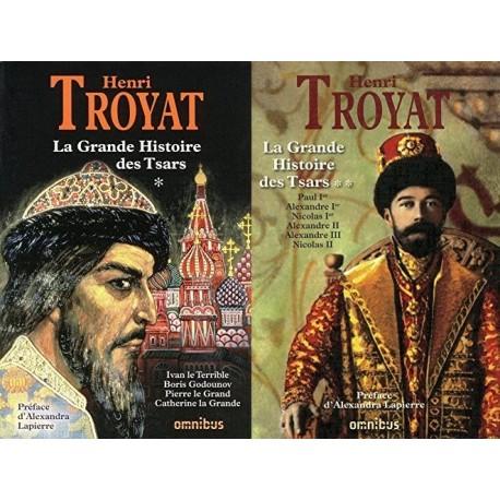 La grande histoire des Tsars : De Ivan le Terrible à Nicolas II, 2 volumes