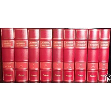 Dictionnaire encyclopédique d'histoire 8/8V + Chronologie universelle Bordas 9782040272050