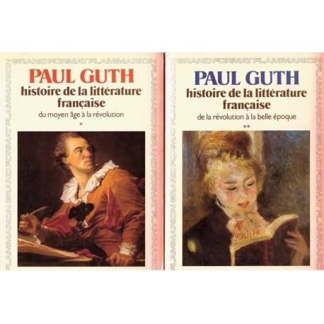 Histoire de la littérature française 2/2V Flammarion 9782080644206