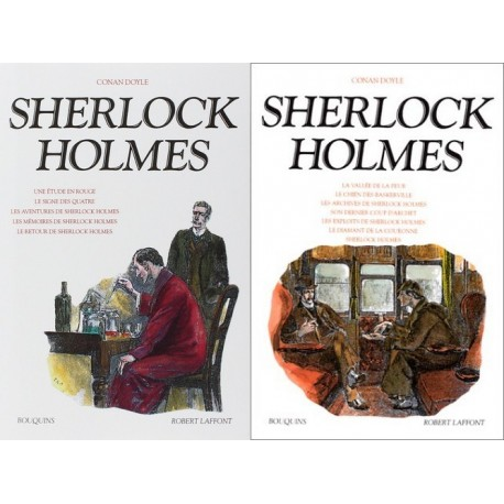Sherlock Holmes Tome 1- 2 9782221092019 Book