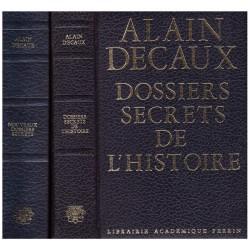 Les dossiers secrets de l'histoire 2/2V