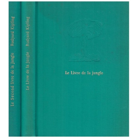 Le livre de la jungle & Le second livre de la jungle 2/2V KIPLING Rudyard Mercure de france 0710377713440