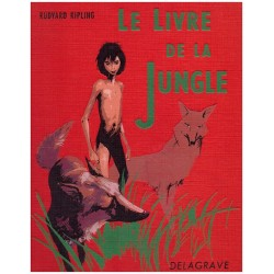 Le livre de la jungle DURAND Paul Delagrave 0710377713211