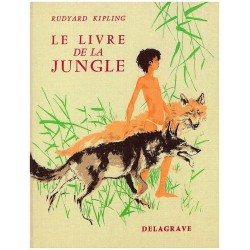 Le livre de la jungle DURAND Paul Delagrave 9782206008073