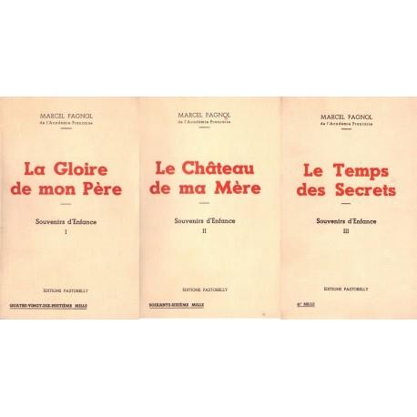 Souvenirs d'enfance 3V: La gloire de mon père - Le château de ma mère - Le temps des secrets 0710377717103