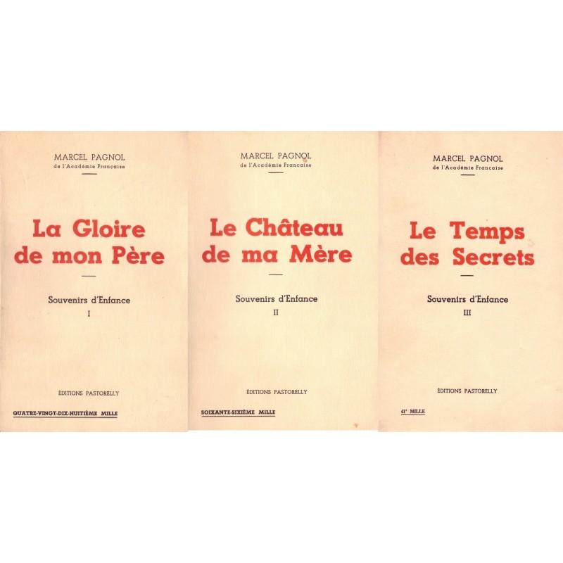 Souvenirs Denfance 3v La Gloire De Mon Pre Le Chteau De Ma