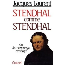 Stendhal comme Stendhal LAURENT Jacques Grasset 9782246309116
