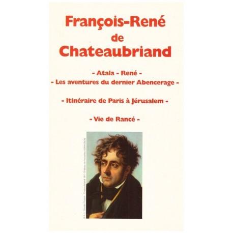 Oeuvres de Chateaubriand 3/3V: Atla, René, Vie de Rancé... Le grand livre du mois 0710377711538