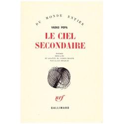 Le ciel secondaire Gallimard 9782070272938
