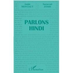 Parlons hindi L' Harmattan 9782738481351