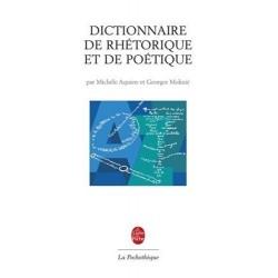 Dictionnaire de rhétorique et de poétique Le Livre de Poche 9782253130178 Book