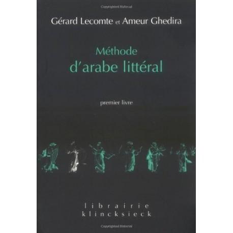 Méthode d'arabe littéral. Premier livre Klincksieck 9782252033845