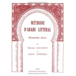 Méthode d'arabe littéral. Second livre Klincksieck 9782252023549 Book