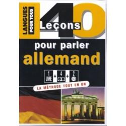 Coffret 40 leçons pour parler allemand (1 livre + 2 CD) COLLECTIF Pocket 9782266144162