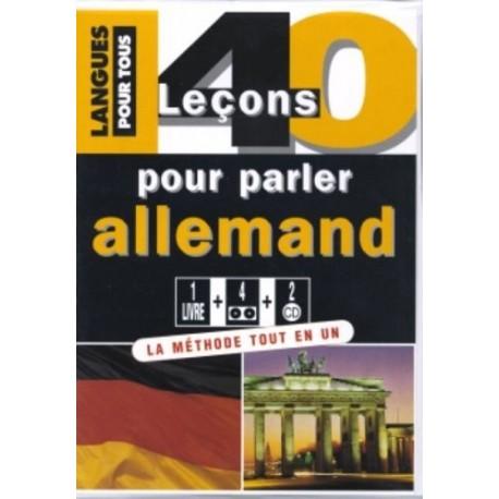 Coffret 40 leçons pour parler allemand (1 livre + 2 CD) COLLECTIF Pocket 9782266144162 Book
