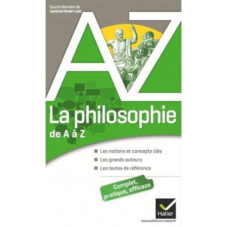La philosophie de A à Z Hatier 9782218947353 Book