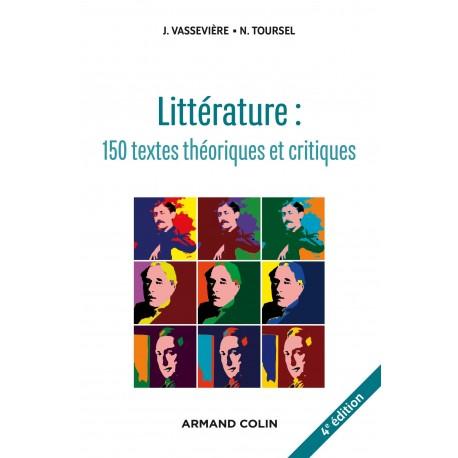 Littérature: textes théoriques et critiques Armand Colin 9782200601331