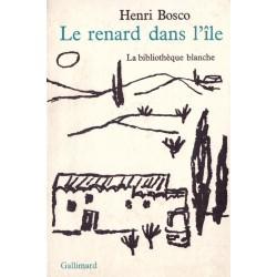 Le renard dans l'île PALAYER Jean Gallimard Jeunesse 0710377715819