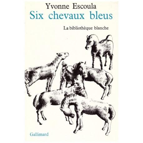 Six chevaux bleus Tibor CSERNUS Gallimard Jeunesse 9782070222421 Book