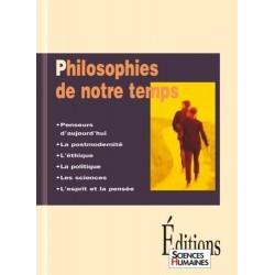 Philosophies de notre temps COLLECTIF Sciences Humaines 9782912601070 Book