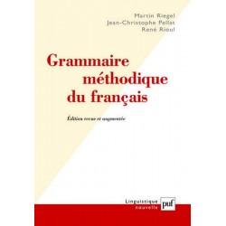 Grammaire méthodique du français RIEGEL Martin Presses Universitaires de France PUF 9782130559696 Book