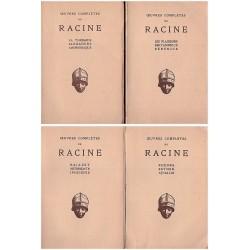 Oeuvres completes de Racine Théâtre 4/4V RACINE Jean Les Belles Lettres 0710377712559 Book