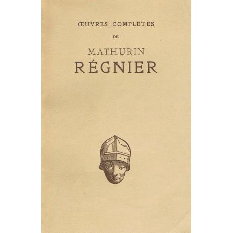 Oeuvres complètes de Mathurin REGNIER REGNIER Mathurin Les Belles Lettres 0710377714706 Book