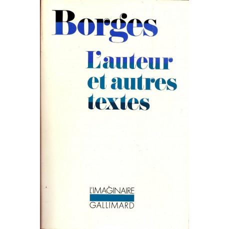 L'auteur et autres textes 9782070240371 Book