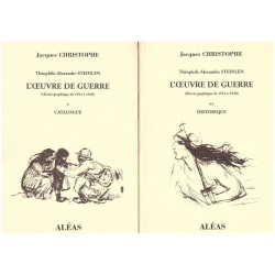 L' oeuvre de guerre 1914-1920 CHRISTOPHE Jacques STEINLEN Théophile Alexandre Aléas 0710377714843 Book