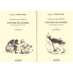 STEINLEN L' oeuvre de guerre 1914-1920 2/2V CHRISTOPHE Jacques STEINLEN Théophile Alexandre Aléas 0710377714843
