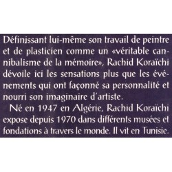 KORAICHI Portrait de l'artiste à deux voix SAADI Nourredine KORAICHI Rachid Actes Sud 9782742720750