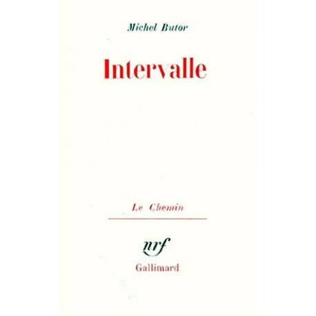 Intervalle. Anecdote en expansion