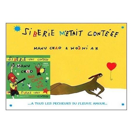 Sibérie m'était contéee + CD CHAO Manu - WOZNIAK Jacek WOZNIAK Jacek Les mille paillettes 9789999999991
