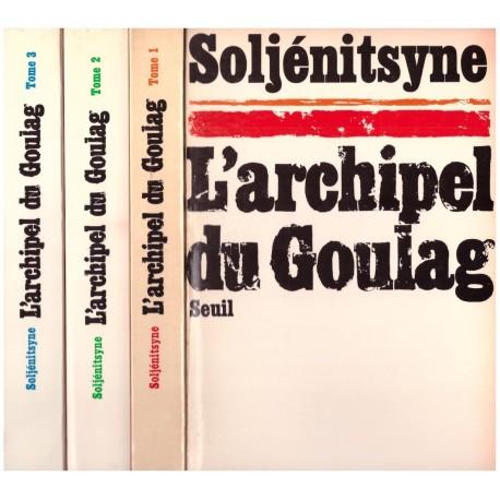 L'archipel du goulag 3/3V SOLJENITSYNE Alexandre Seuil 0710377713075