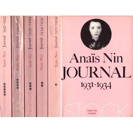 Journal 1931-1955 5V NIN Anais Stock 0710377719886