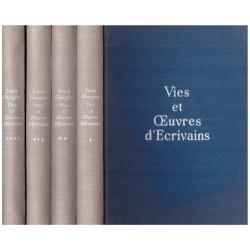 Vies et oeuvres d'écrivains 4/4V CHAIGNE Louis Fernand LANORE 0710377714379