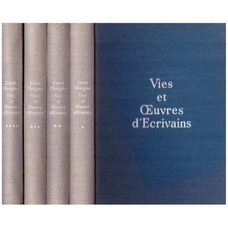 Vies et oeuvres d'écrivains 4/4V