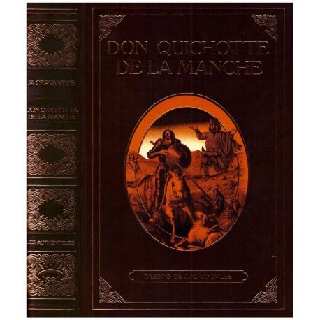 Don Quichotte de la Manche CERVANTES Miguel de GRANDVILLE Jean Jacques L' éventail 0710377713396 Book