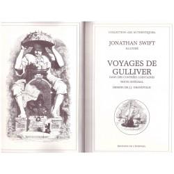 Les voyages de Gulliver SWIFT Jonathan GRANDVILLE Jean Jacques L' éventail 0710377719428